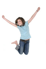 young girl jumping 3