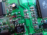 electronic circuit board poster