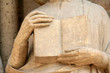 Leinwanddruck Bild - livre en pierre