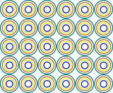 abstract circle  87 poster
