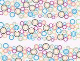 abstract circle  91 poster