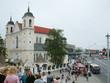 kirche und hauptstraße in minsk