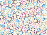 abstract circle 97 poster