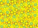 abstract circle 98 poster