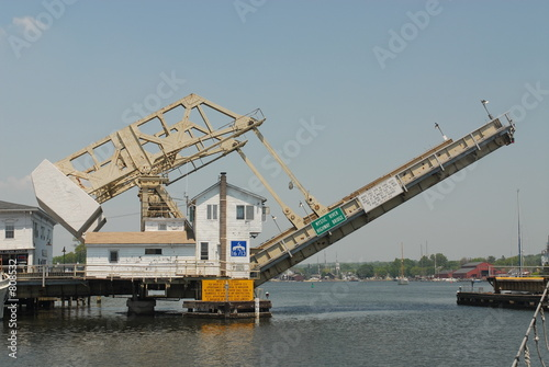 raising the drawbridge