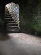 stairway in castle cellar/dungeon