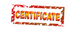 certificated poster