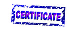 certificated 1 poster