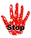 stop sign 15 poster