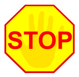 stop sign 11 poster