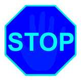 stop sign 10 poster