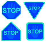 stop sign 16 poster