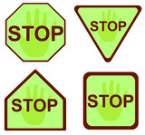 stop sign 17 poster