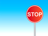 stop sign 7 poster