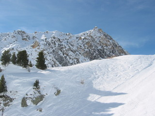 piste de ski