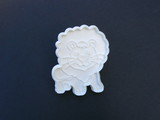 lion cookie cutter poster