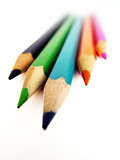 Fototapety pencil crayons