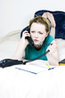 angry woman on the phone