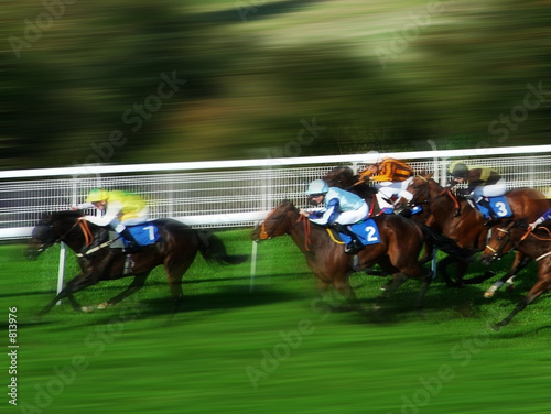 Aluminium Paardrijden horse race