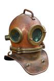 scuba helmet poster