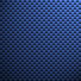 blue carbon fiber poster