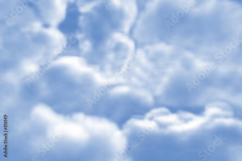 poster of fluffy clouds