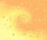 orange spray poster