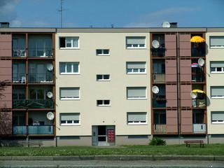 moderner wohnblock