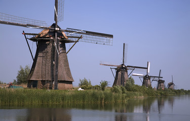 dutch windmills in kinderdijk 8