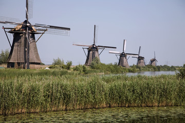 dutch windmills in kinderdijk 7