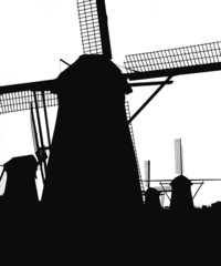 dutch windmills in kinderdijk 5