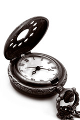 antique pocket watch (copper)