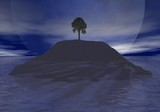 lone tree isle poster