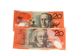 $20 notes poster