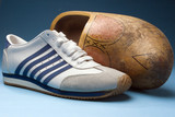 clog and sport shoe poster