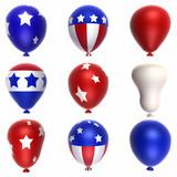 patriotic balloons poster