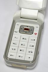 flip phone close up