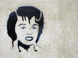 graffiti lady