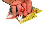 money gamble poster