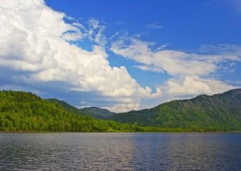 altai, teletckoe lake