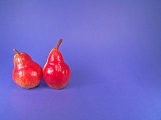 two organic pears