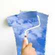 painting clouds