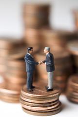 meeting over money