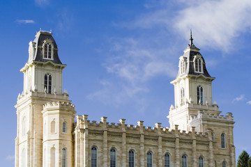 lds manti utah temple – south