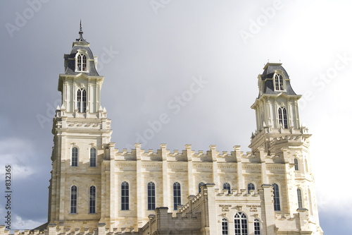 lds manti utah temple – north