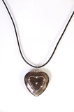 heart shaped necklace poster
