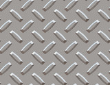 seamless diamond plate background in large silver poster