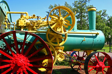 steam tractor 2