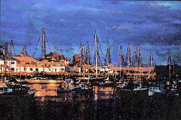 camden harbour,maine