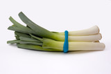 bunch of leeks tied together poster